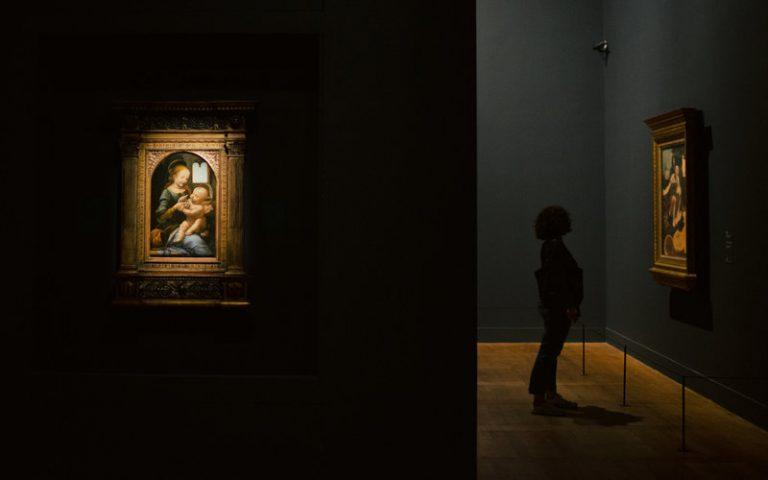 Leonardo da Vinci no Louvre em Paris